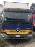 Mercedes box trailer truck