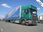 camion remorque Scania R420 6X2 TOPLINE WITH JUMBO TRAILER MANUAL RETARDER
