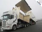 camion remorque Scania R560 V8 6X2 TOPLINE RETARDER EURO 4 WITH TYLLIS TRAILER