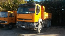 used Renault two-way side tipper trailer truck
