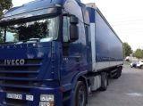 camión remolque lona corredera (tautliner) sistema de lona corrediza Iveco usado