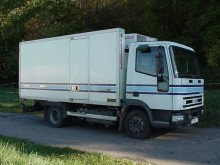 used Iveco insulated trailer truck