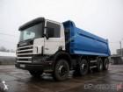 camion cu remorca benă Scania second-hand