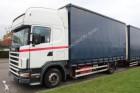 camion cu remorca Scania second-hand