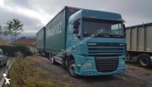 used DAF tarp trailer truck