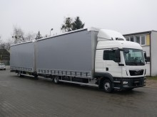 new MAN sliding tarp system trailer truck