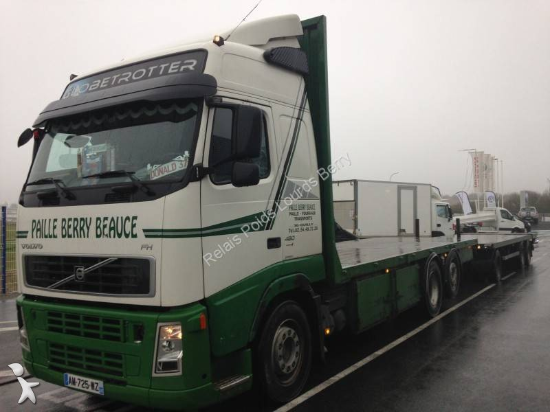 camion remorque volvo plateau porte paille fh13 480 6x2 gazoil euro 4 occasion n 1636940. Black Bedroom Furniture Sets. Home Design Ideas