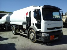 used Renault oil/fuel tanker trailer truck