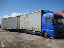 MAN tautliner trailer truck