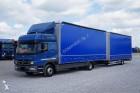 camion cu remorca benă Mercedes second-hand