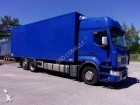 used Renault standard box trailer truck