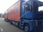 camion cu remorca cu prelata si obloane camion cu prelata culisanta si obloane Renault second-hand