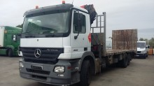 used Mercedes heavy equipment transport trailer truck