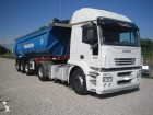 used Iveco construction dump trailer truck