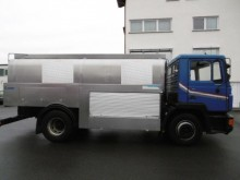 used MAN food tanker trailer truck