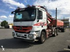 used Mercedes timber trailer truck