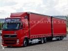 camión remolque lonas deslizantes (PLFD) Volvo usado