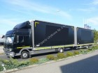 used dropside flatbed tarp trailer truck
