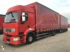 camion cu remorca obloane laterale suple culisante (plsc) Renault second-hand