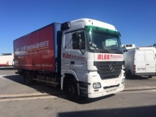 used Mercedes moving box trailer truck