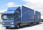 Mercedes Atego 822 zestaw przestrzenny 2013r 256 tyś km trailer truck