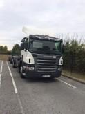 camión remolque Ampliroll Scania usado