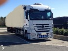 used Mercedes container trailer truck