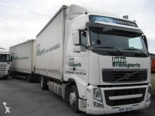 used Volvo tautliner trailer truck