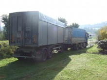 used Renault cereal tipper trailer truck