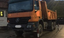 used Mercedes tipper trailer truck