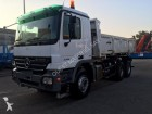 used Mercedes two-way side tipper trailer truck