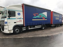 used DAF tarp trailer truck