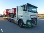 used DAF straw carrier flatbed trailer truck