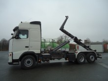 Volvo hook lift trailer truck
