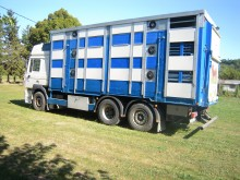 used MAN livestock trailer truck