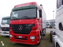 Mercedes three-way side tipper trailer truck
