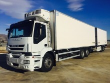 Iveco refrigerated trailer truck