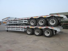 new heavy equipment transport trailer truck