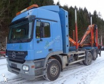 Mercedes timber trailer truck