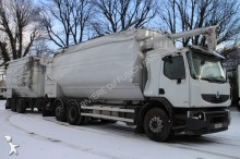 used Renault powder tanker trailer truck