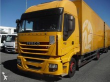 used Iveco box trailer truck