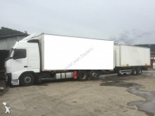 Volvo moving box trailer truck