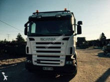 Scania timber trailer truck