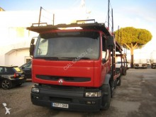 used Renault car carrier trailer truck