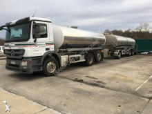 Mercedes food tanker trailer truck