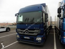 Mercedes container trailer truck
