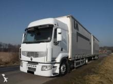 Renault tautliner trailer truck