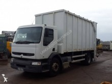 Renault box trailer truck