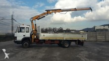 used Iveco dropside flatbed trailer truck