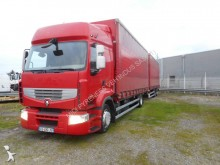 used Renault double deck tautliner trailer truck